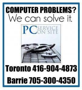 in home computer repair Toronto, Computer repair Toronto, slow computer