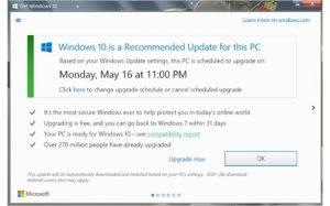 windows 10, stop windows 10 upgrade